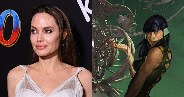PARA SÁBADO Así sería Angelina Jolie como Sersi en Los Eternos