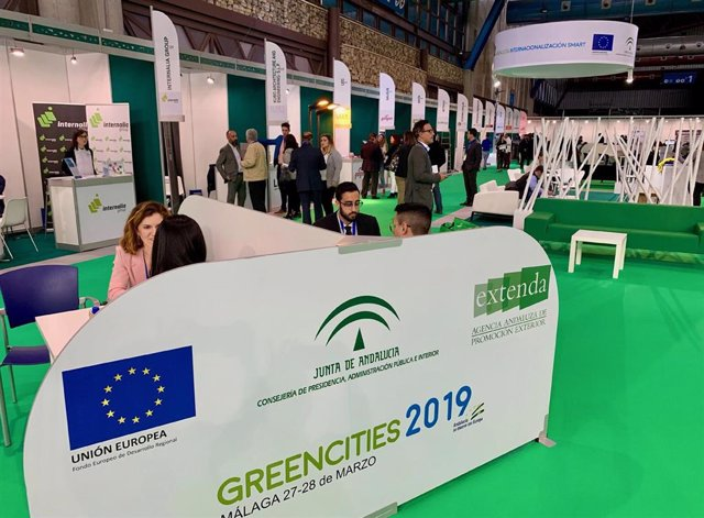 Economía.-Empresas andaluzas celebran en 'Greencities' más de 100 reuniones con