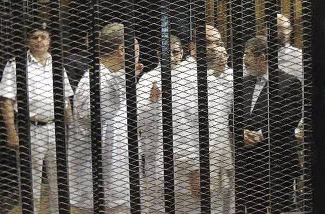 El presidente depuesto de Egipto, Mohamed Mursi