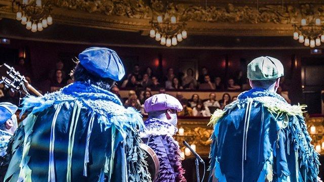 Modesto Barragán y Manuel Casal presentan la gala del Carnaval de Cádiz en el Gr