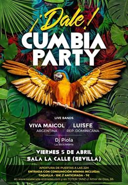Sevilla.- La primera edición de una fiesta de cumbia en Sevilla reunirá el viern
