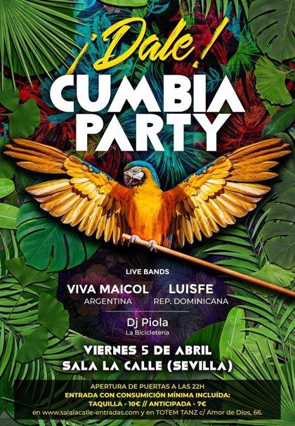 """Músicos latinoamericanos reivindicarán la """"cultura de la cumbia"""" en una fiesta en Sevilla (España) sobre este género"""