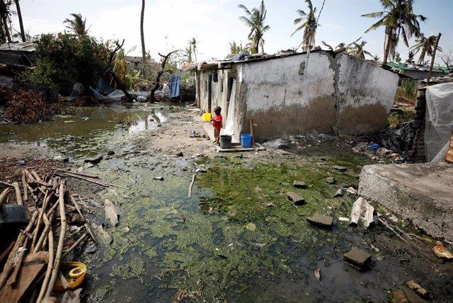 La vacunación contra el cólera en zonas afectadas por el ciclón 'Idai' en Mozamb