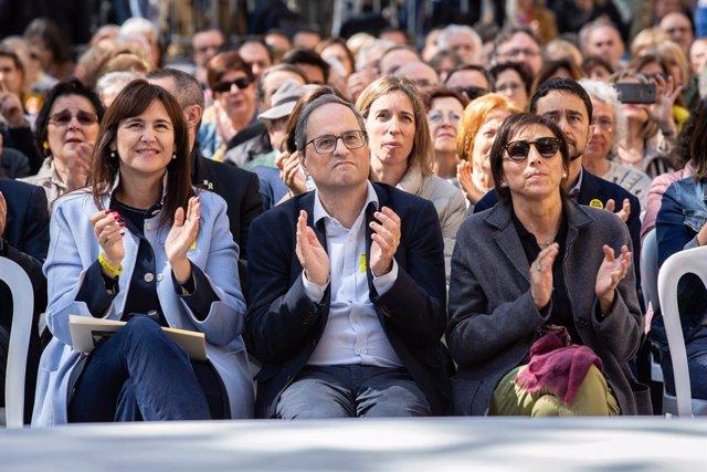 Torra adverteix que el PSOE est disposat a tornar a aplicar el 1555