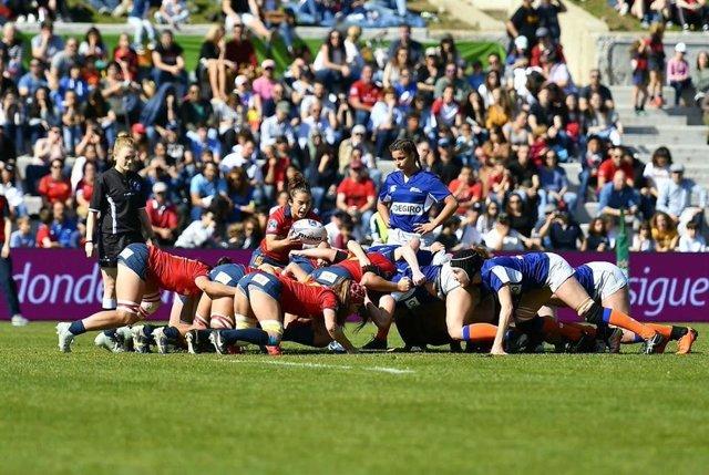 Rugby.- 9.000 espectadores, nuevo récord de asistencia a un partido de rugby fem
