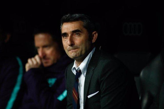 """Fútbol/Liga Campeones.- Valverde: """"Pese a las dificultades nos hemos sobrepuesto"""