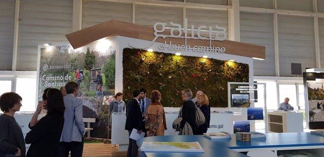 Xacobeo.- Galicia muestra su oferta turística y divulga el Camino del Norte en e