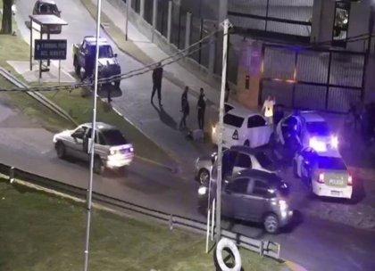Filtran el vídeo del tiroteo entre policías en Avellaneda, Argentina