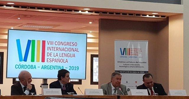 El VIII Congreso de la Lengua Española reunirá esta semana en Argentina a 200 ex