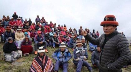 El líder indígena Gregorio Rojas está dispuesto a dialogar para terminar con el conflicto de la mina china en Perú