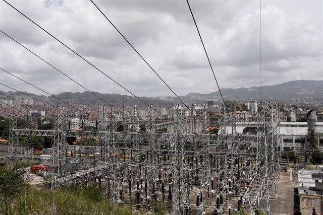 Trabajadores del sector eléctrico de Venezuela en huelga