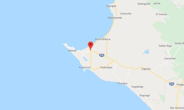 l'Equador.- Una successió d'almenys tres sismes sacsegen la costa de l'Equador