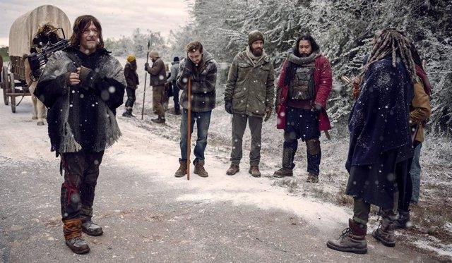 """La escena final de la 9ª temporada de The Walking Dead """"lo cambiará todo"""""""