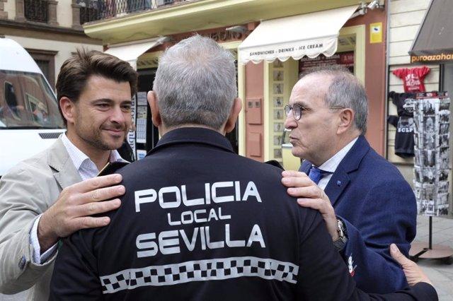 Sevilla.-26M.-El comisario de la lista de Beltrán Pérez propone instalar videovi