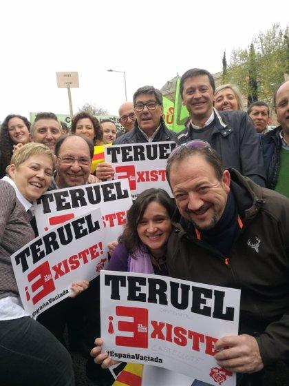 Aliaga asegura que el PAR seguirá trabajando en la defensa del medio rural y de Teruel