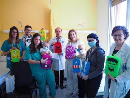 Voluntarios anónimos donan al Clínico cajas con diseños 3D para quimioterapia infantil