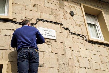 La calle barcelonesa Riera de Cassoles estrena nombre tras cambiar el de 'Príncep d'Astúries'
