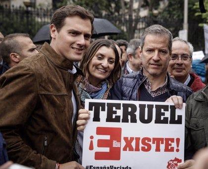 """""""No es la primera vez que Teruel ha dejado claro que existe y resiste"""", subraya Daniel Pérez (Cs)"""