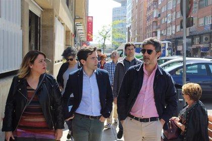 PSOE quiere desarrollar un modelo urbano sostenible en el centro de Santander