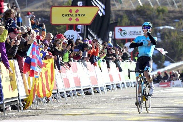 El ciclista colombiano Miguel Ángel López (Astana Pro Team).