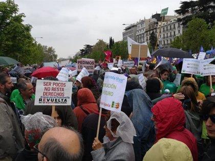 'La España vaciada' llena el centro de Madrid para reclamar medidas contra la despoblación