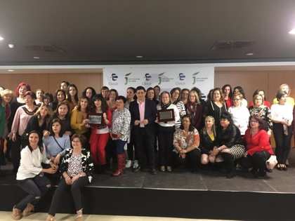 El presidente de la Diputación de Jaén valora en una jornada la labor de las trabajadoras de Ayuda a Domicilio