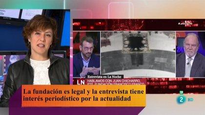 """RTVE defiende que se invite al presidente de la Fundación Francisco Franco al '24H': """"Tiene interés periodístico"""""""