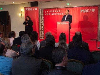 """Ábalos defiende que el """"independentismo está más débil"""" con el Gobierno de Sánchez que con el de Rajoy"""