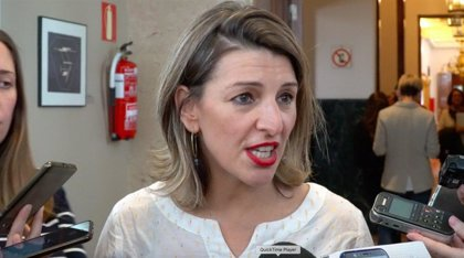 """Yolanda Díaz responsabiliza a Villares de """"no querer negociar"""" y de """"andar rompiendo mareas"""" por toda Galicia"""