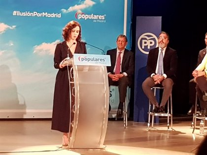"""Díaz Ayuso dice que la zona oeste de la Comunidad es """"especial"""" para el PP al ser """"claro ejemplo"""" de sus políticas"""