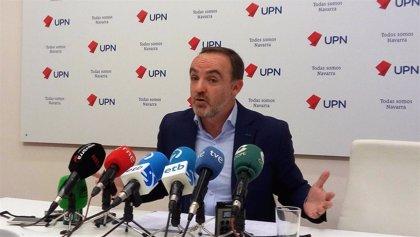 """Esparza (UPN) dice que """"el único muro contra el desarrollo de Navarra es el nacionalismo y el populismo"""""""