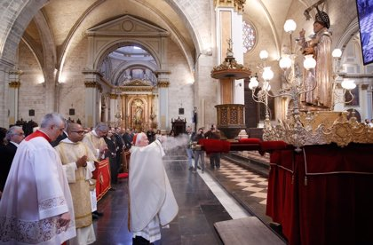 Una misa en honor a San Vicente Ferrer en el 600 aniversario de su muerte inicia los actos finales del Año Jubilar