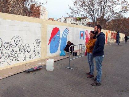 Pignatelli Pinta, una iniciativa artística para mejorar la habitabilidad del Casco Histórico de Zaragoza