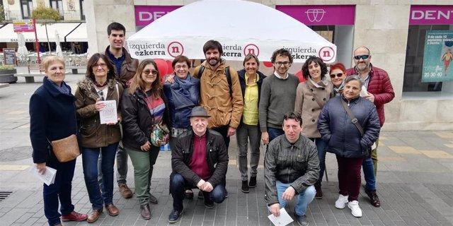 Acto de Izquierda-Ezkerra en Tudela