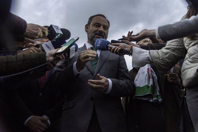 Visita del Ministro de Fomento, José Luis Ábalos, a la ciudad autónoma de Ceuta