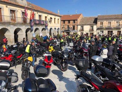 Villacastín (Segovia) reúne a más de 250 moteros en el primer almuerzo de la concentración 'La Leyenda Continúa'