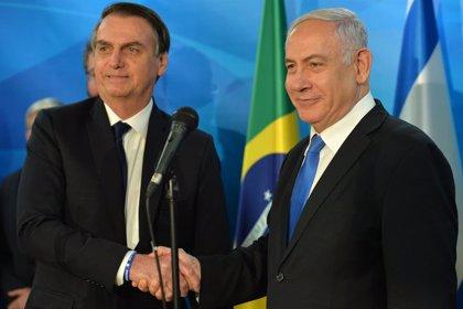Bolsonaro inicia su primera visita oficial a Israel