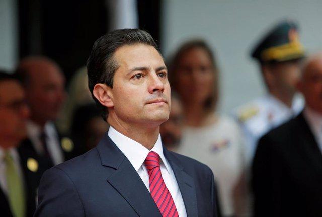 El presidente de México Enrique Peña Nieto
