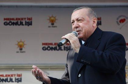Erdogan reconoce que han perdido algunas alcaldías y se pone como horizonte las elecciones de 2023