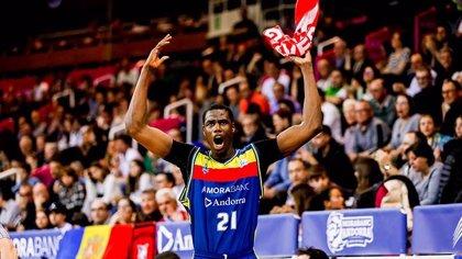 Moussa Diagne, MVP de marzo en la Liga Endesa