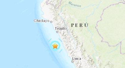 Un terremoto de 5,7 grados sacude a Perú