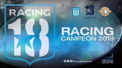 Racing Club se corona campeón en Argentina a falta de una jornada