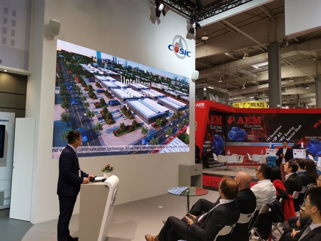 COMUNICADO: CASIC attends the Hannover Messe