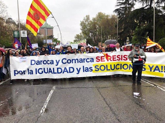Zaragoza.-El alcalde de Daroca confía en que la 'Revuelta de la España vaciada'