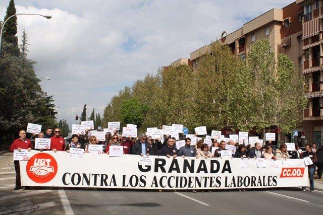 Granada.- UGT y CCOO denuncian ante Fiscalía la muerte de un trabajador en una f