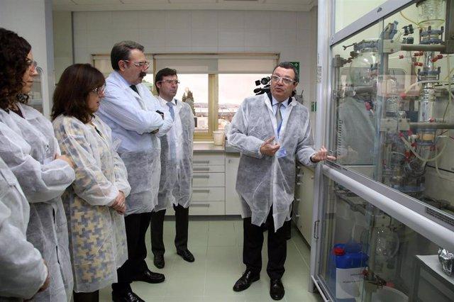 """Junta destaca los trabajos de producción e investigación """"únicos"""" realizados en"""