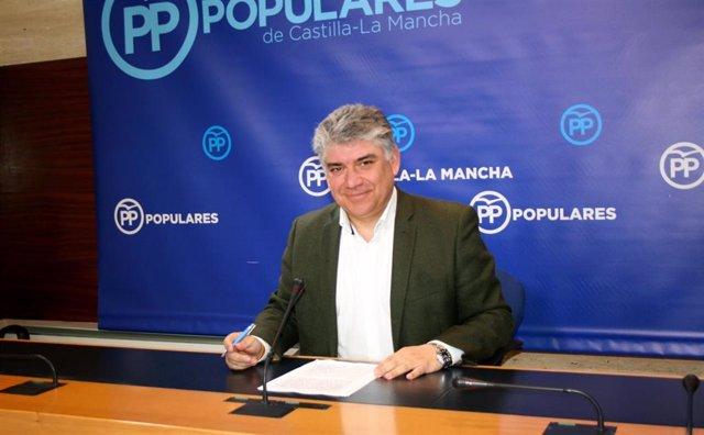 Pp Clm (Cortes De Voz Y Fotografía) Carlos Cotillas, En Rueda De Prensa 010419