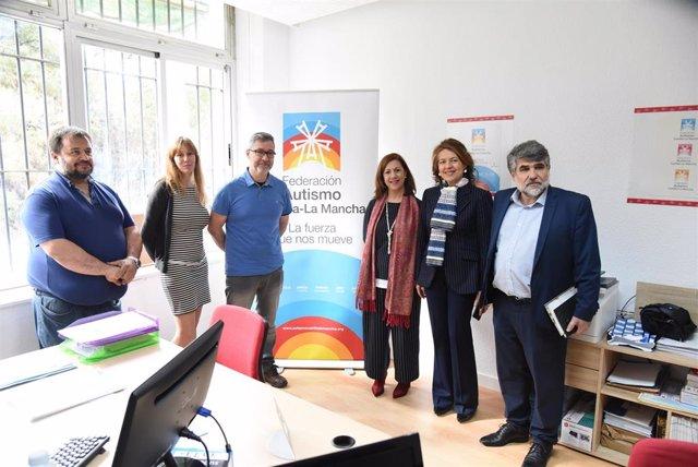 La nueva sede de la Federación de Autismo C-LM se estrena en Toledo ampliando se