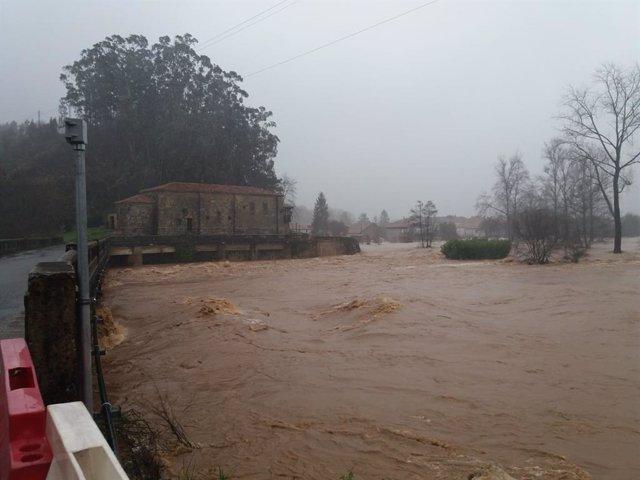 Zona Torrelavega inundaciones