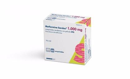 Sandoz lanza 'Metformina Sandoz' 1.000 mg en comprimidos para el tratamiento de la diabetes tipo 2